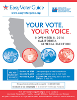 California Easy Voter Guide