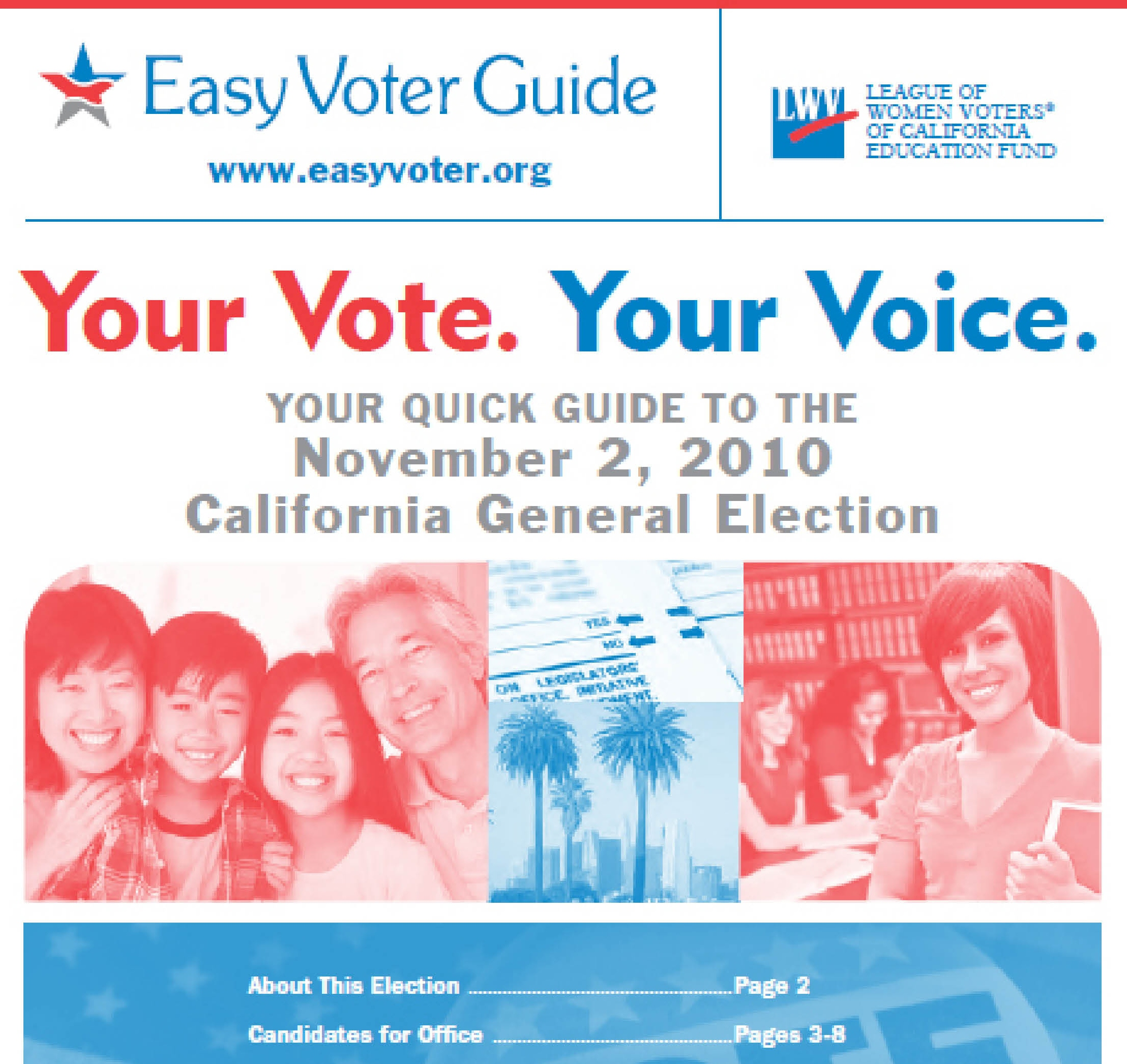 from Rafael california voters guide gay